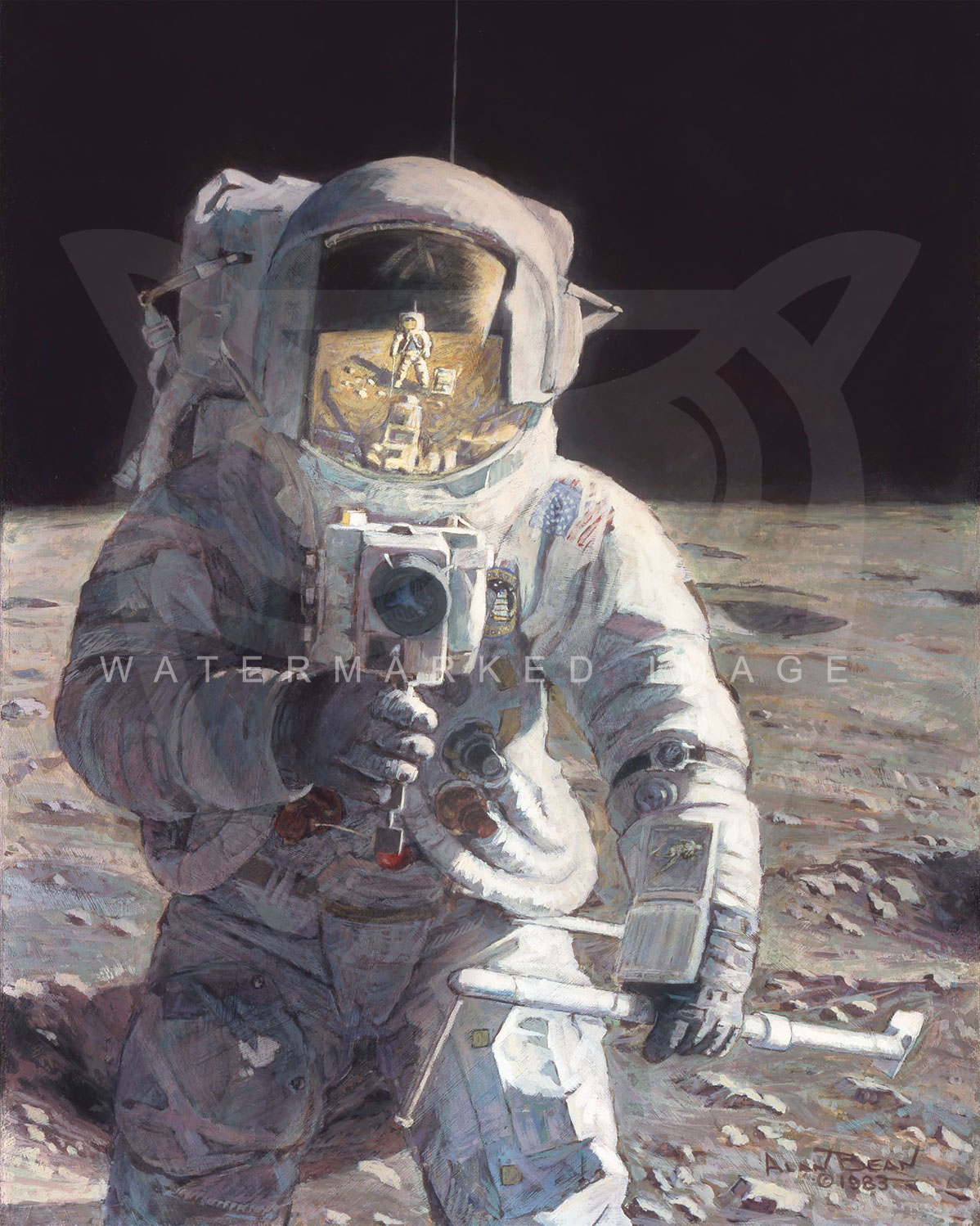 alan bean astronaut - photo #13