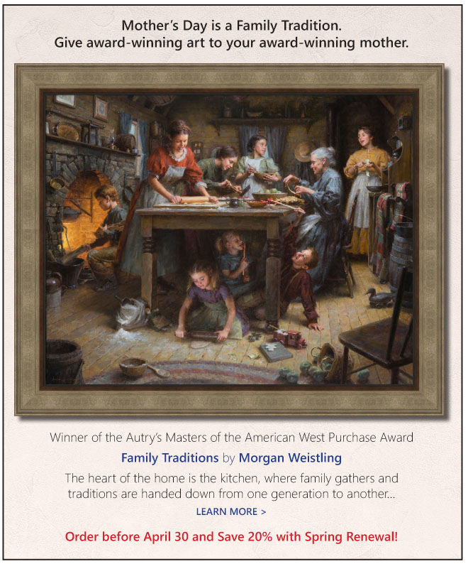 Family Traditions by Morgan Weistling is perfect for Mother's Day