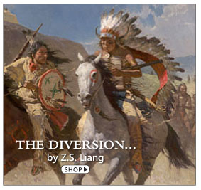 The Diversion by Z. S. Liang, part of the Commemorative Edition of Native Trails, Fresh Tracks book