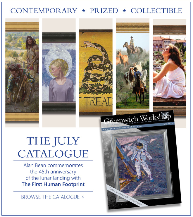See The Greenwich Workshop July Catalogue
