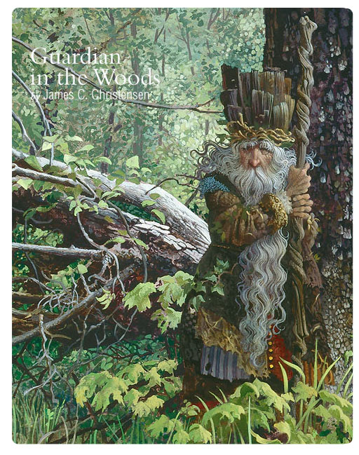 Guardian in the Woods by James C. Christensen