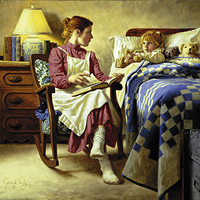 """Bedtime Story"" by Jim Daly"