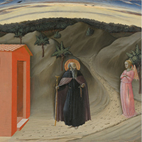 """The Temptation of Saint Anthony Abbot"" by the Master of the Osservanza"