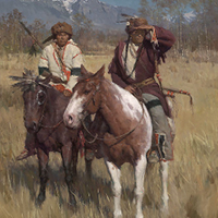 """The Buffalo Scouts"" by Z.S. Liang"