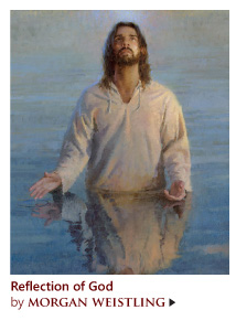 """""""Reflection of God"""" by Morgan Weistling"""