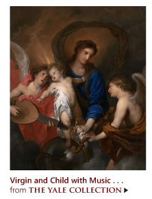 """""""Virgin and Child with Music-Making Angels"""" from The Yale Collecion"""
