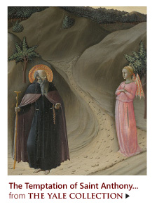"""""""The Temptation of Saint Anthony Abbot"""" from The Yale Collection"""