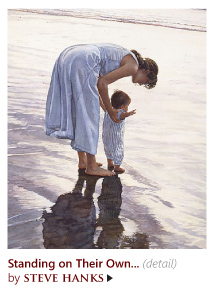 """Standing on Their Own Two Feet"" by Steve Hanks"