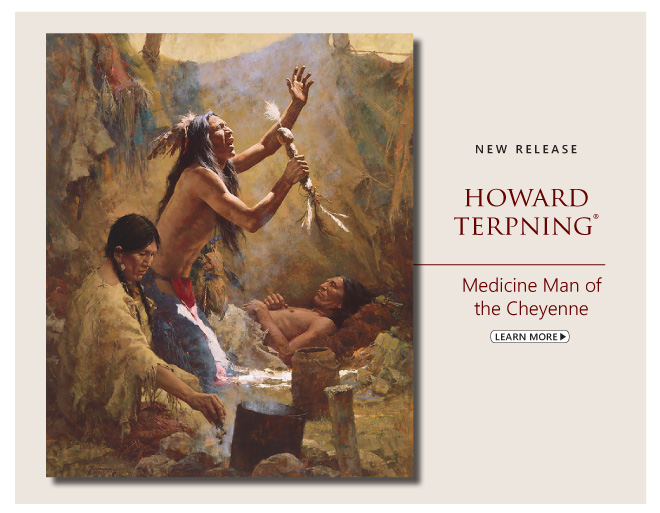 """Medicine Man of the Cheyenne"" by Howard Terpning"