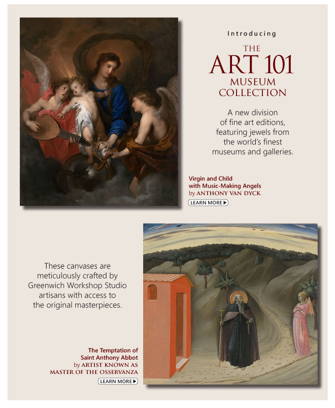 Introducing The Art 101 Museum Collection