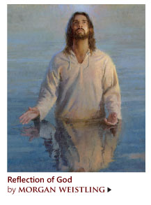 """""""Reflections of God"""" by Morgan Weistling"""