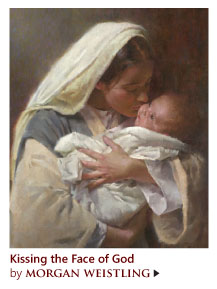 """""""Kissing the Face of God"""" by Morgan Weistling"""
