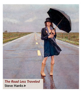 """""""The Road Less Traveled"""" by Steve Hanks"""