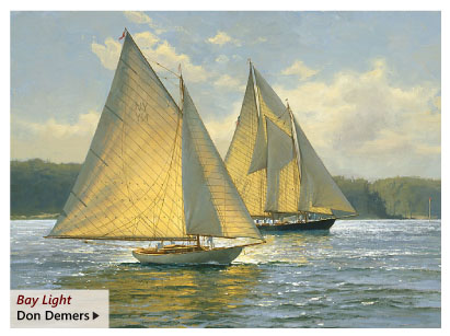 """""""Bay Light"""" by Don Demers"""