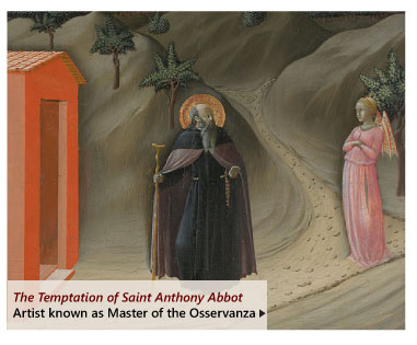 """""""The Temptation of Saint Antohony Abbot"""" by Artist known as Master of the Osservanza"""