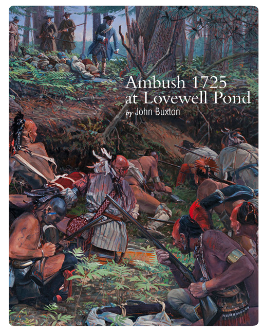 Ambush 1725 at Lovewell Pond by John Buxton