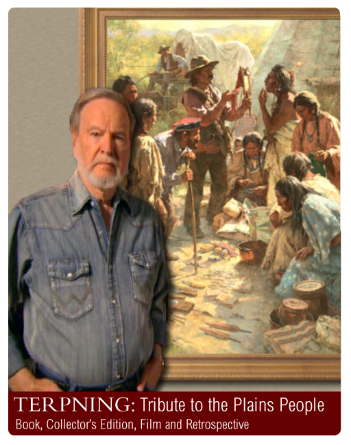 Tribute to the Plains People by Howard Terpning