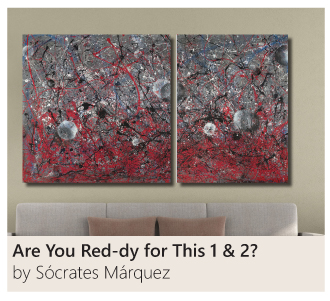 Are You Red-dy for This 1 & 2? by Socrates Marquez