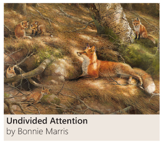 Undivided Attention by Bonnie Marris