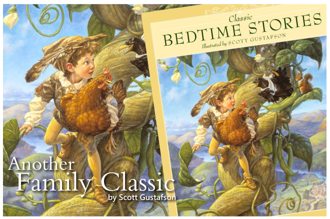 Classic Bedtime Stories Illustratred by Scott Gustafson