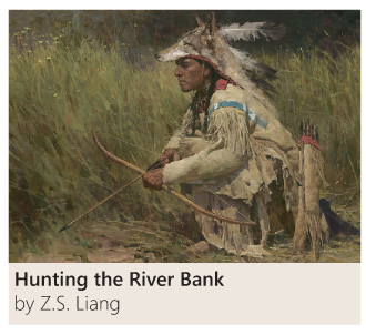 Hunting the River Bank by Z. S. Liang