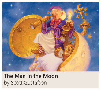 The Man in the Moon by Scott Gustafson