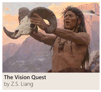 The Vision Quest by Z. S. Liang
