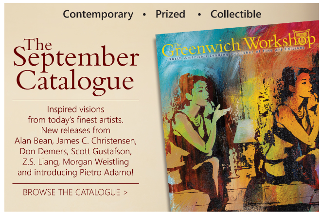 Click to view the Greenwich Workshop September Catalogue