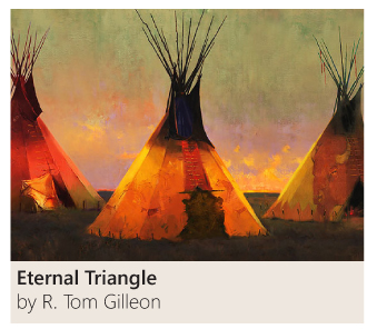 Eternal Triangle by R. Tom Gilleon
