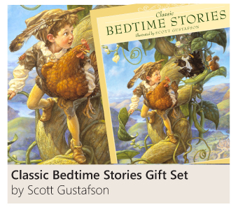 Classic Bedtime Stories Gift Set Illustrated by Scott Gustafson