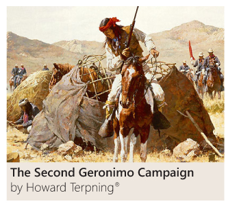 The Second Geronimo Campaign by Howard Terpning