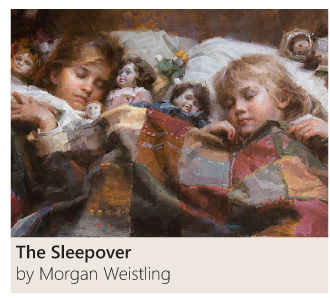 The Sleepover by Morgan Weistling