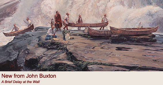 """A Brief Delay at the Wall"" by John Buxton"