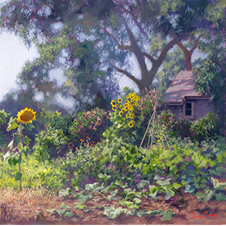"""My Garden"" by June Carey"
