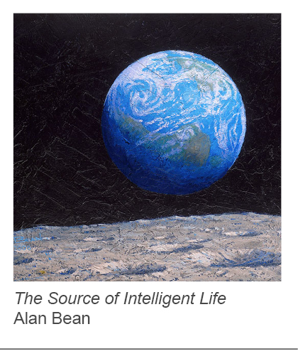 """The Source of Intelligent Life"" by Alan Bean"