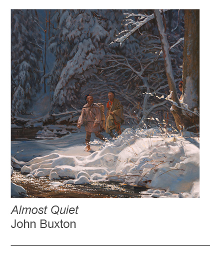 """Almost Quiet"" by John Buxton"