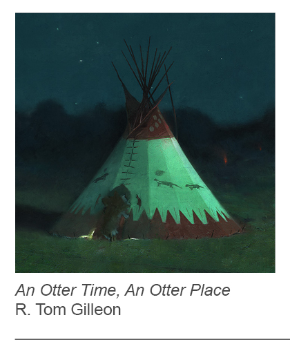 """An Otter Time, An Otter Place"" by R. Tom Gilleon"