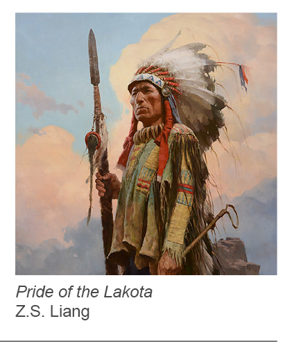 """Pride of the Lakota"" by Z.S. Liang"