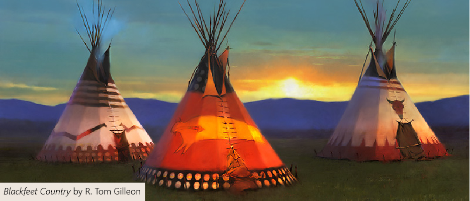 """Blackfeet Country"" by Z.S. Liang"