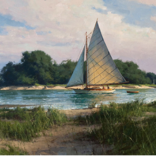 """Passing the Island"" by Don Demers"