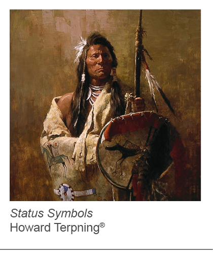 """Status Symbols"" by Howard Terpning"