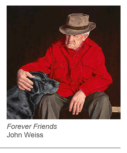 """Forever Friends"" by John Weiss"