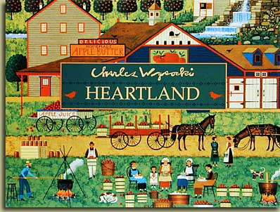 Charles Wysocki - HEARTLAND -  TRADE BOOK Published by the Greenwich Workshop