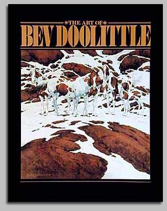 Bev Doolittle - THE ART OF BEV DOOLITTLE HARDCOVER -  TRADEBOOK Published by the Greenwich Workshop