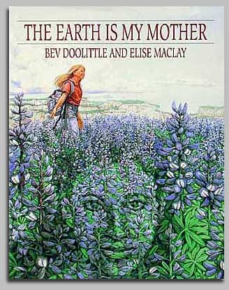 Bev Doolittle - THE EARTH IS MY MOTHER -  TRADE BOOK Published by the Greenwich Workshop