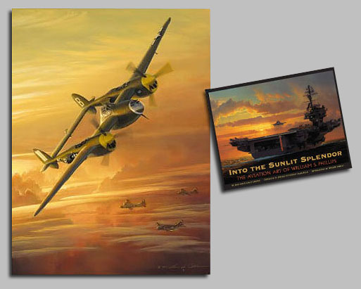 William S. Phillips - Into the Sunlit Splendor: Avia -  COLLECTOR BOOK W/ L.E. CANVAS Published by the Greenwich Workshop