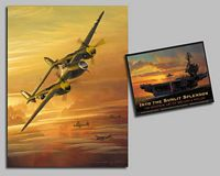 Into the Sunlit Splendor: Avia<br> COLLECTOR BOOK W/ L.E. CANVAS