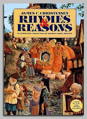 James C. Christensen - RHYMES AND REASONS -  TRADE BOOK Published by the Greenwich Workshop