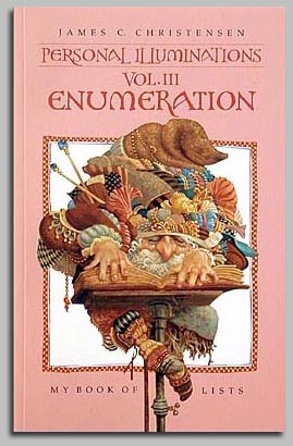 James C. Christensen - ENUMERATION JOURNAL VOL. III -  SOFTCOVER Published by the Greenwich Workshop