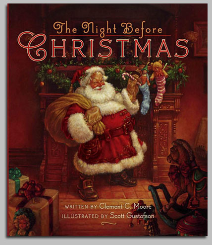 Scott Gustafson - Twas the Night Before Christmas -  TRADEBOOK Published by the Greenwich Workshop